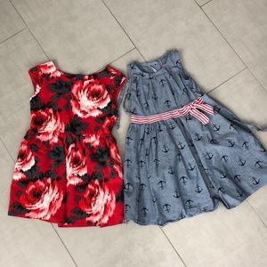 Kids Gap and Boutique Brand Girls Dresses